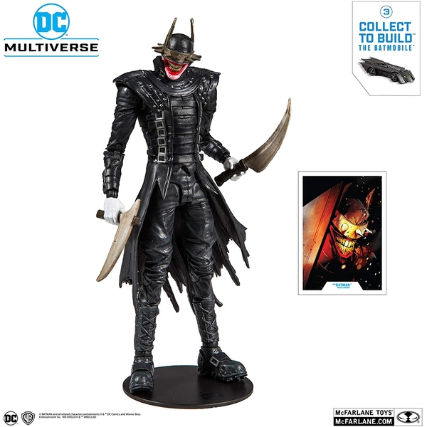 Batman Who Laughs DC Multiverse McFarlane Toys Action Figure - Image 1