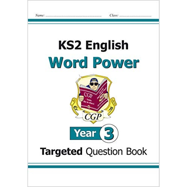 KS2 English Targeted Question Book: Word Power - Year 3 by CGP Books (Paperback, 2014)