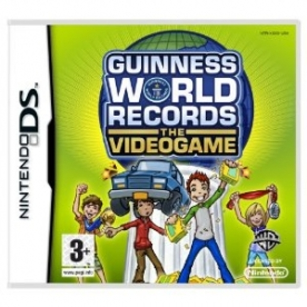 Guinness Book Of Records The Videogame Game DS