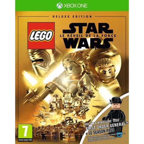 Lego Star Wars The Force Awakens Deluxe Edition Xbox One Game (First Order General Mini Figure)