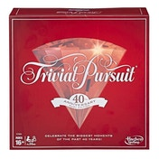 Trivial Pursuit 40th Anniversary Ruby Edition Board Game