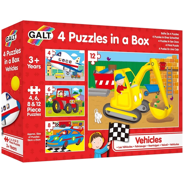 Vehicles Childrens Jigsaw Puzzles
