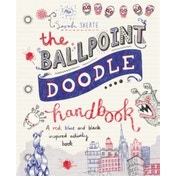 The Ballpoint Doodle Handbook : A red, blue and black inspired activity book