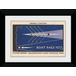 Transport For London Boat Race 50 x 70 Framed Collector Print - Image 2