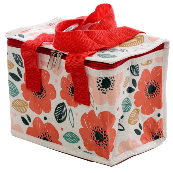 Poppies Woven Cool Bag Lunch Box