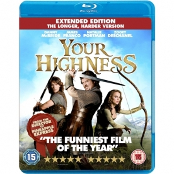 Your Highness Extended Edition The Longer Harder Version Blu-ray