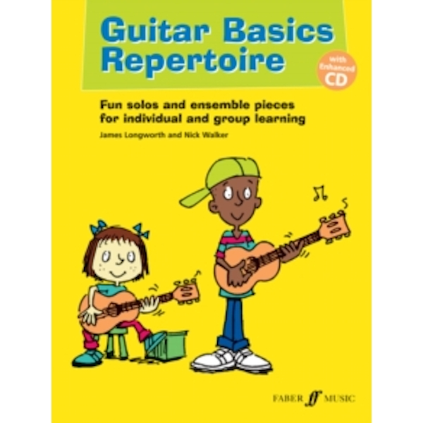 Guitar Basics Repertoire : Guitar Tab