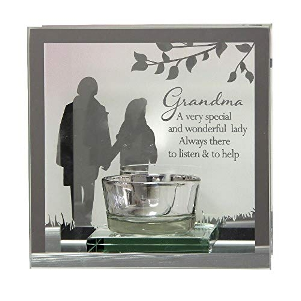 Reflections Of The Heart Mirror Tealight Holder - Grandma