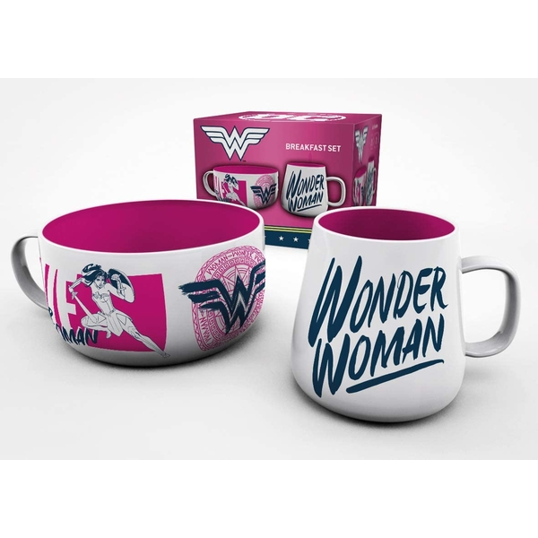 DC Comics Wonder Women Brave Breakfast Set