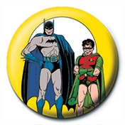 Batman and Robin - Yellow Badge