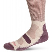 Bridgedale CoolFusion Light Hiker Women's Large Sock (Plum)