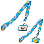 Adventure Time Finn & Jake Lanyard