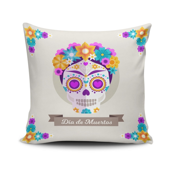 NKLF-366 Multicolor Cushion Cover