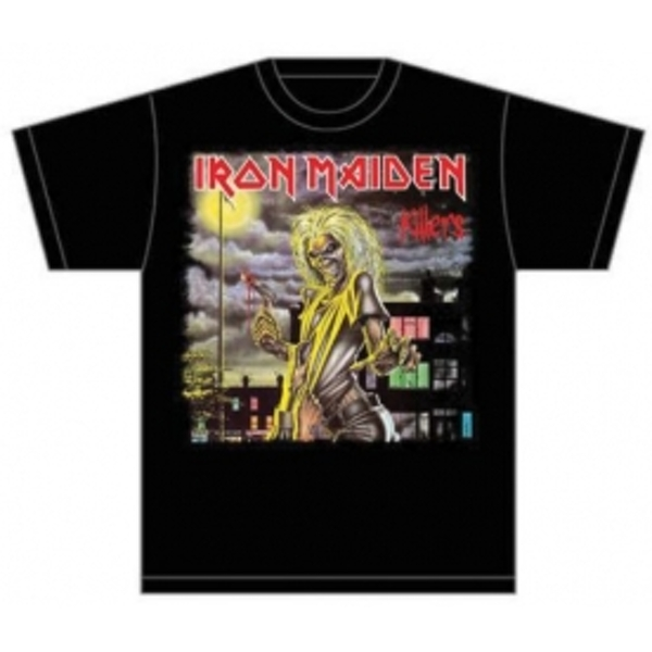 Iron Maiden Killers Cover Mens T Shirt: Large
