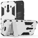Huawei Mate 10 Pro Armour Combo Stand Case - Steel Silver - Image 2