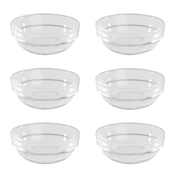 Glass Condiment Dishes - Set of 6   M&W