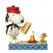 Snoopy & Woodstock Campfire Friends (Peanuts) Jim Shore Figurine