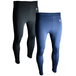 "Precision Essential Base-Layer Leggings Navy - L Junior 26-28"" - Image 2"