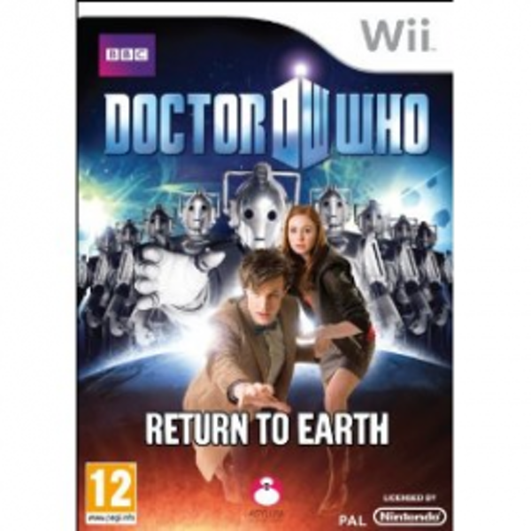 Doctor Who Return to Earth Game Wii
