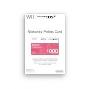 Ex-Display Nintendo Points Card 1000 Wii/DS Used - Like New