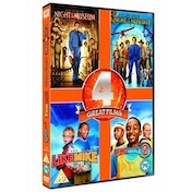 Night At The Museum / Night At The Museum 2 / Like Mike / Like Mike 2 - Streetball DVD