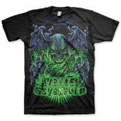 Avenged Sevenfold Dare To Die Mens Black T-Shirt Small