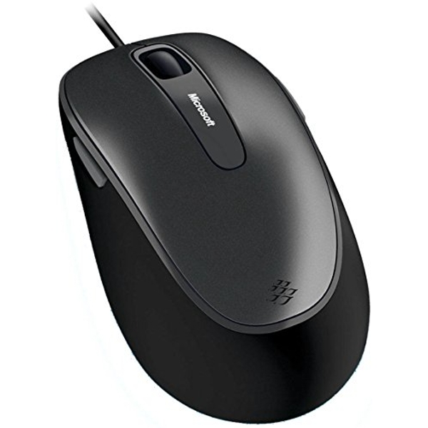 Microsoft Comfort Mouse 4500 - Business Packaging - Silver / Black