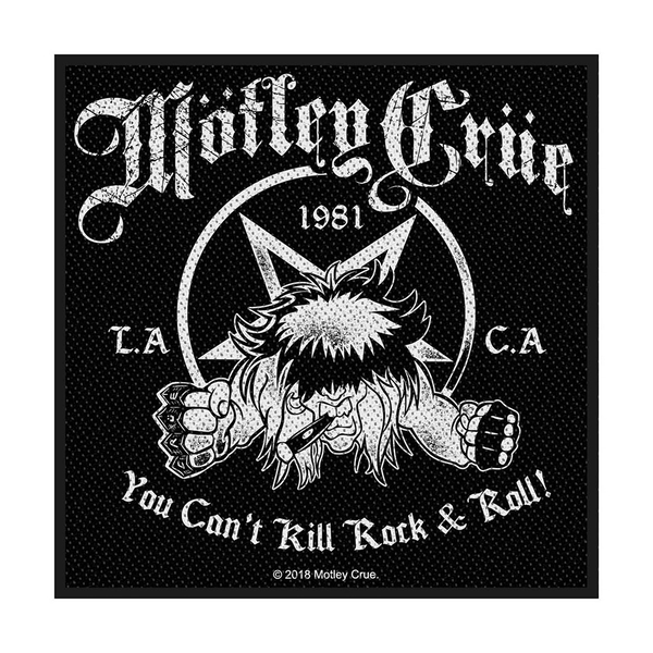 Motley Crue - You Can't Kill Rock n' Roll Standard Patch