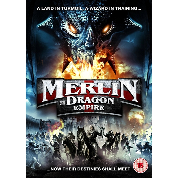 Merlin and the Dragon Empire DVD