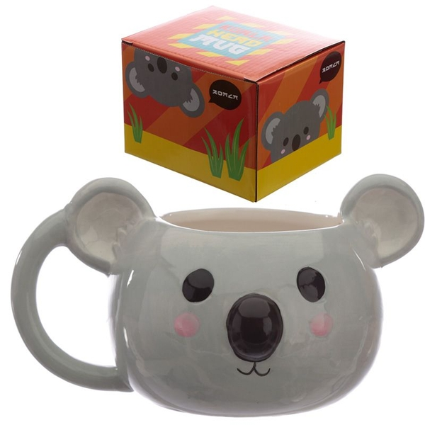 Cutiemals Ceramic Koala Head Shaped Mug