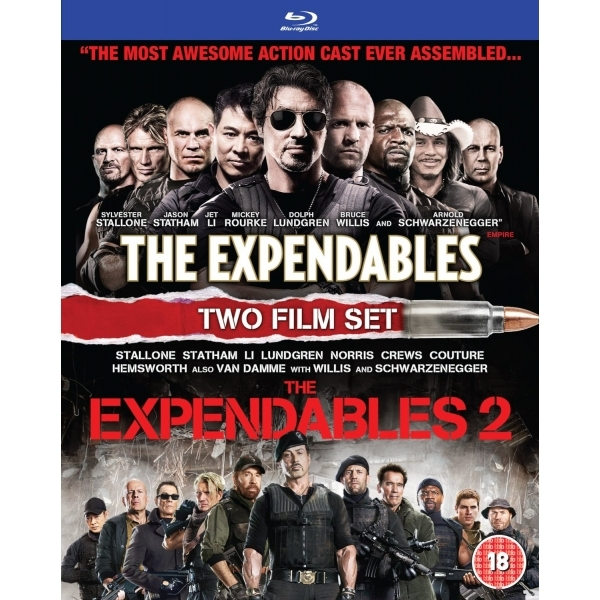 Expendables 1 & 2 Blu Ray