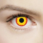 Wild Fire 1 Day Halloween Coloured Contact Lenses (MesmerEyez XtremeEyez)