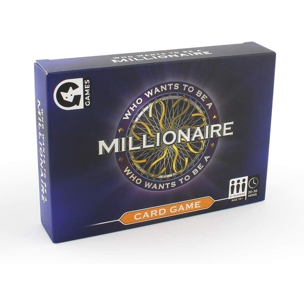 Who Wants To Be A Millionaire Card Game