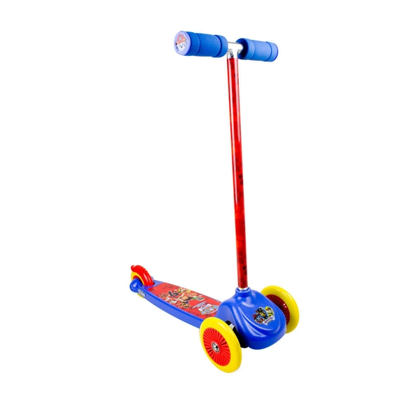 Paw Patrol Kid's Three Wheel Flex Scooter Blue/Red
