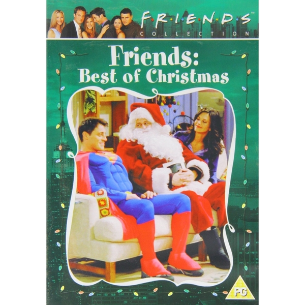 Friends The Best Of Christmas DVD