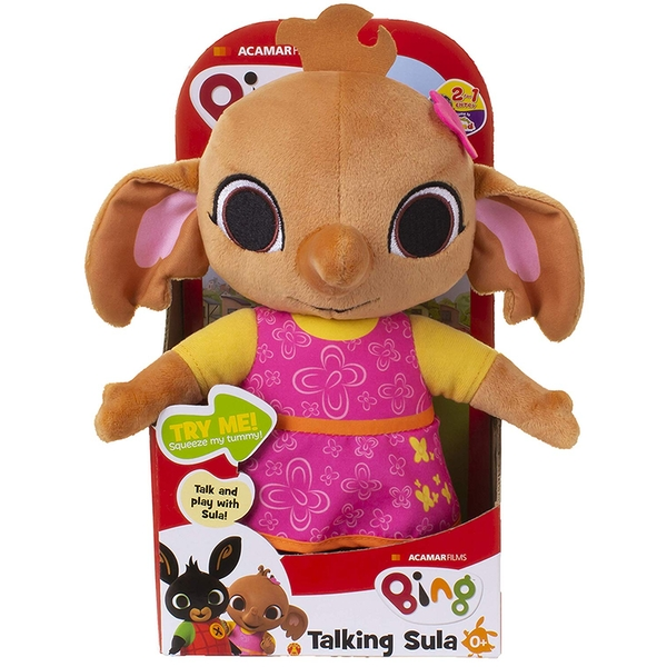 Bing Sula Talking Soft Toy