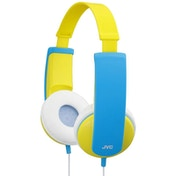 JVC HAKD7Y Tiny Phones Kids Stereo Headphones Yellow