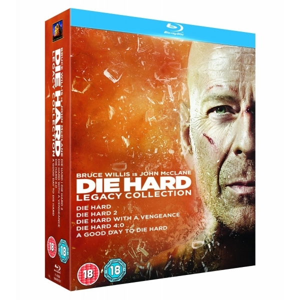 Die Hard Legacy Collection Films 1-5 Blu-ray