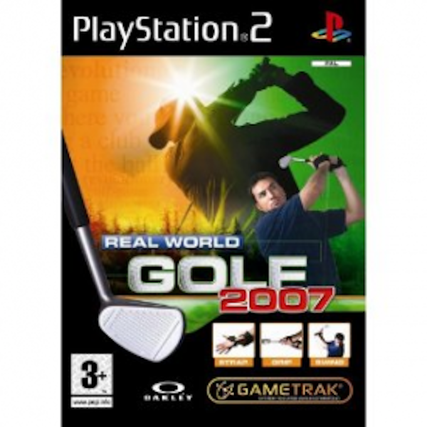Real World Golf 2007 Solus Game PS2