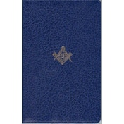 The Masonic Bible: King James Version (KJV) by HarperCollins Publishers (Leather / fine binding, 2004)