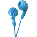 JVC Gumy Bass Boost Stereo Headphones Peppermint Blue