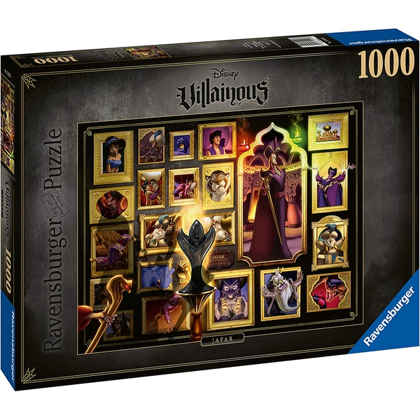 Ravensburger Disney Villainous Jafar Jigsaw Puzzle - 1000 Pieces