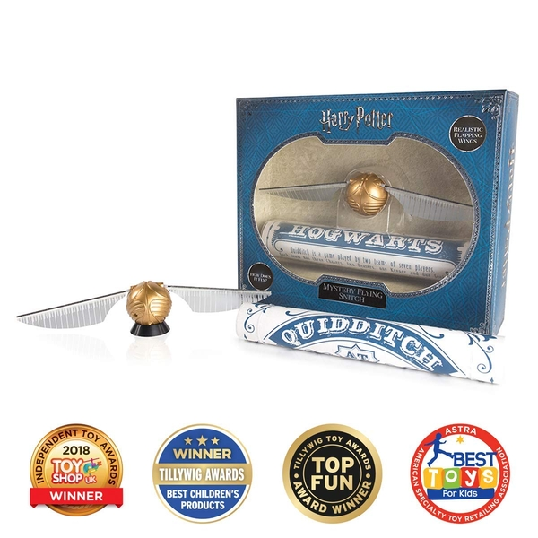 J.K. Rowling's Wizarding World Harry Potter Mystery Flying Snitch - Image 1
