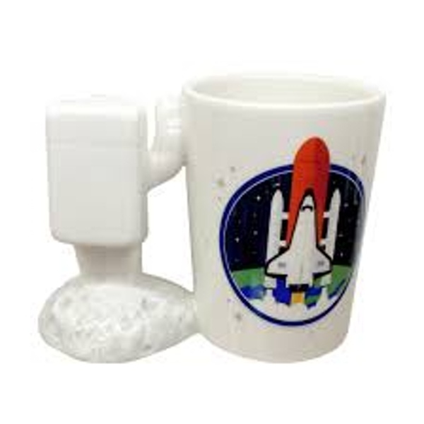 Astronaut Spaceman Shaped Handle Mug with Decal