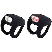 Knog Frog Strobe 2 LED Front & Rear Light Set Black