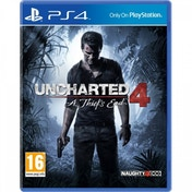 Ex-Display Uncharted 4 A Thief's End PS4 Game Used - Like New