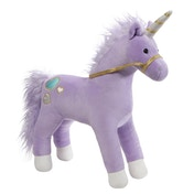 Bluebell Purple Unicorn GUND Core Collection Large Soft Toy