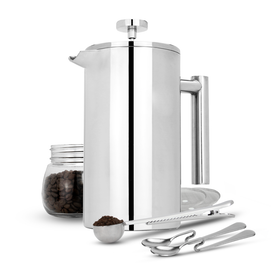 French Press Cafetiere | M&W 1000ml
