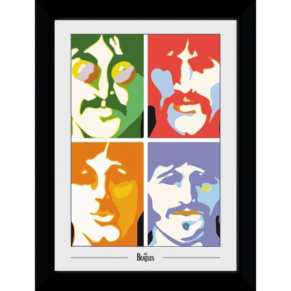 The Beatles Sea of Science Collector Print