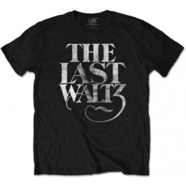 The Band The Last Waltz Mens Blk Tshirt: Small